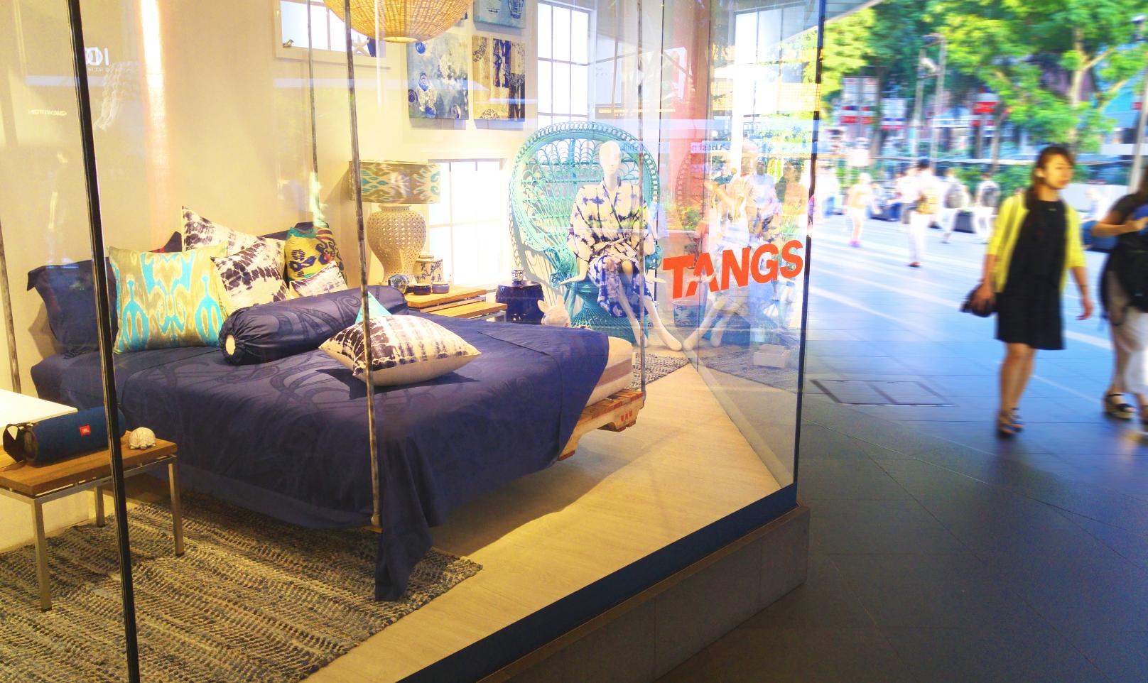 Tangs 2016 Summer Window Display